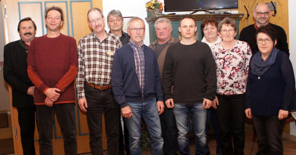 Vorstandschaft Bienenzuchtverein Wald und Umgebung 2020